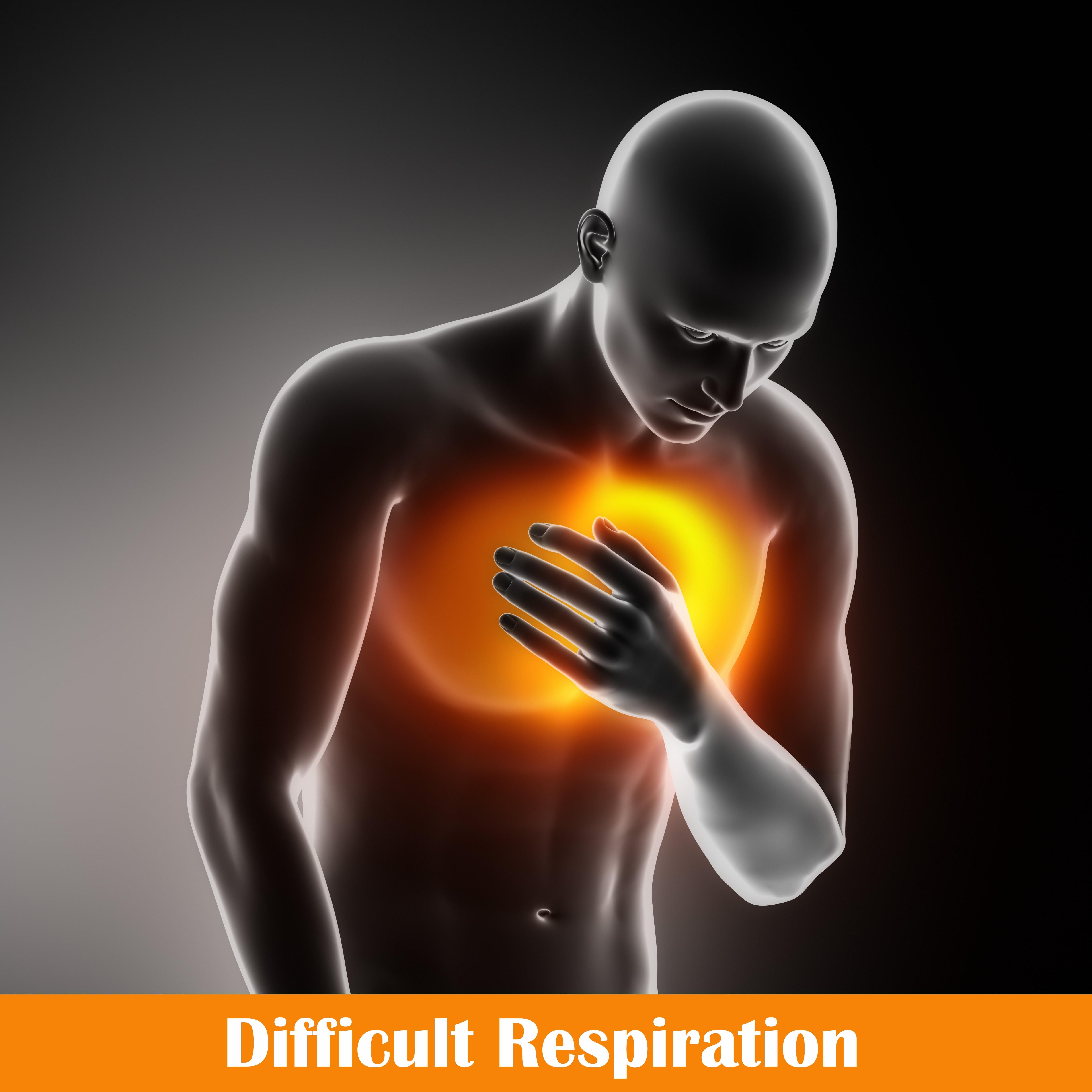 Difficult Respiration (dyspnoea)