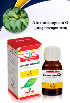 ABROMA AUGUSTA Ø | Mother Tinctures | Kamal Laboratories, Best