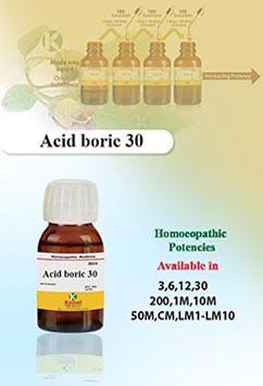 Acid Boric (Boricum Acidum)