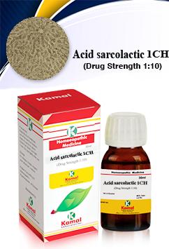 ACID SARCOLATIC 1CH