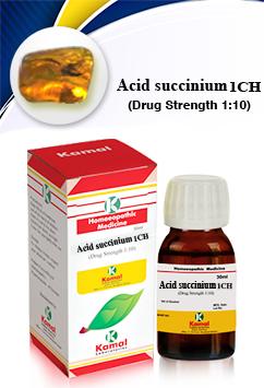 ACID SUCCINIUM 1CH
