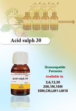 Acid sulph