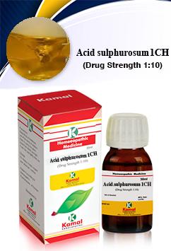 ACID SULPHUROSUM 1CH