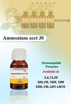 Ammonium acet