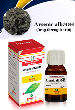 ARSENIC ALB 3DH