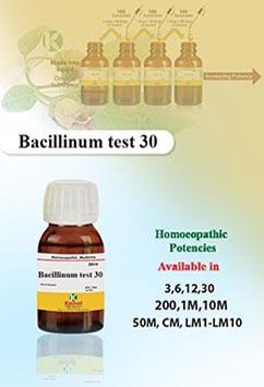 Bacillinum test