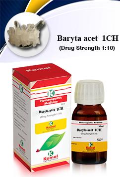 BARYTA ACET 1CH