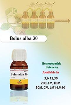 Bolus alba