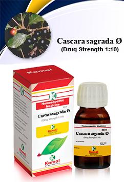 CASCARA SAGRADA Ø