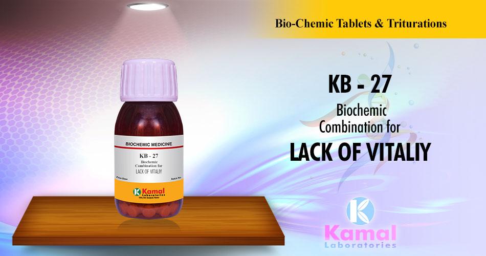 KB-27 (500gm Lactose base)