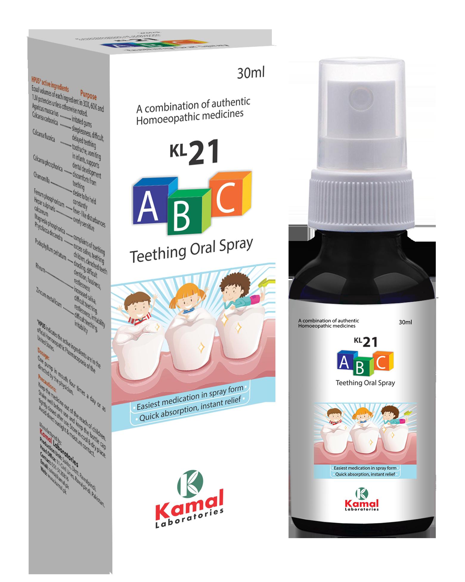 KL 21 ABC Spray