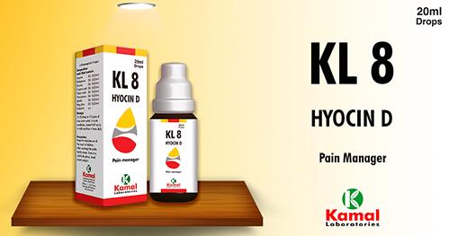 KL 8 (HYOSCIN- D)