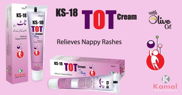 KS 18 TOT Cream (With Olive Oil)