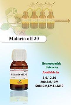 Malaria off