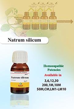 Natrum silicum