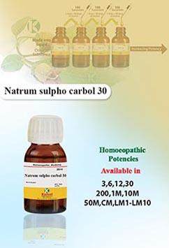 Natrum sulpho carbol