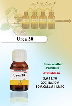 Urea | Potencies (Dilutions) | Kamal Laboratories, Best Homeopathic